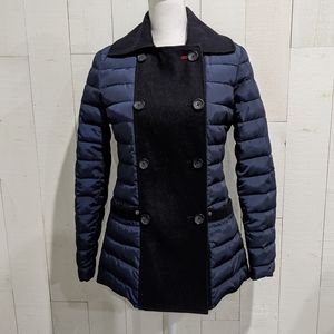 Tommy Hilfiger Blue Puffer Coat